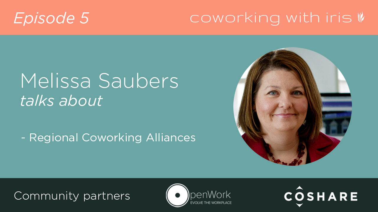 For more specifics on creating regional collaborative space alliances, you can check out this video and podcast I did with Melissa Saubers, founder of the KC Coworking Alliance.